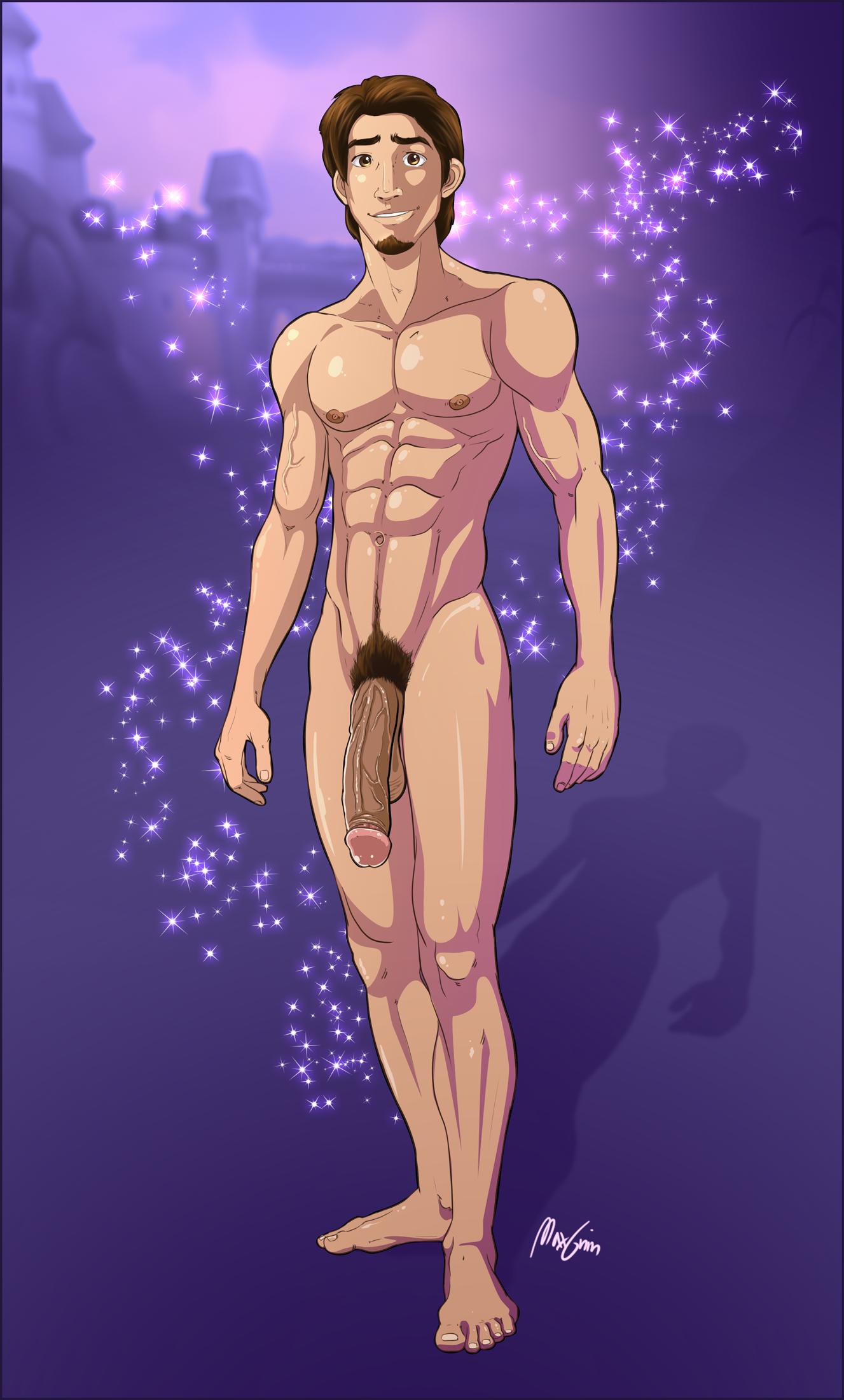 Flynn rider naked